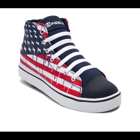 71f626f4045b Heelys Other - Men s Heelys Hustle American Flag Skate Shoes- 13